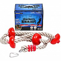 Ninja Climbing Rope 8' w/ Foot Holds
