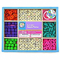 Bead Bazaar Wooden Alphabet Bead Craft Kit