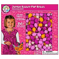 Bead Bazaar Bubble Pop Beads-Princess Pop Playset 150+ Beads