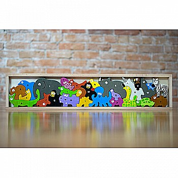 Animal Parade A to Z Puzzle