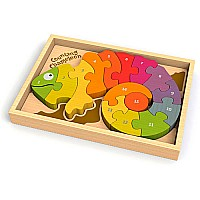 Counting Chameleon Puzzle