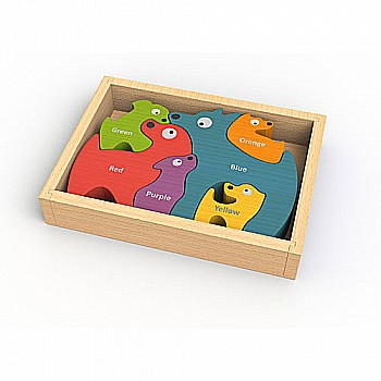 Dog Family Puzzle w/ Curriculum