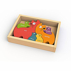 Cat Family Puzzle w/ Curriculum