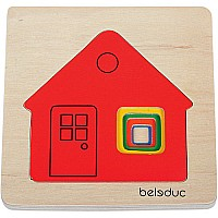 Hape Layer Puzzle - Cottage