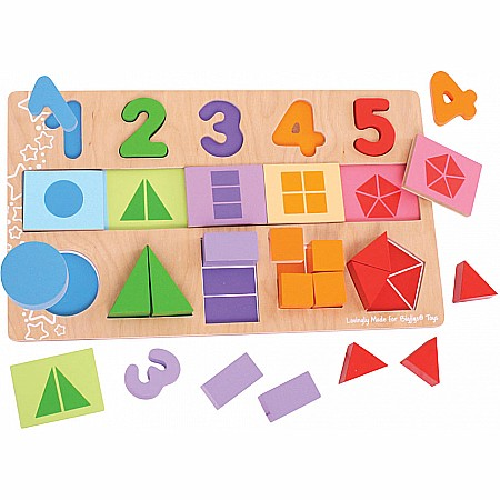 My First Fractions Puzzle