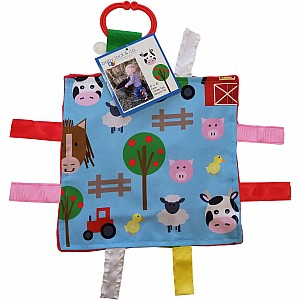 8x8 Farm Animals Crinkle Sensory Toy