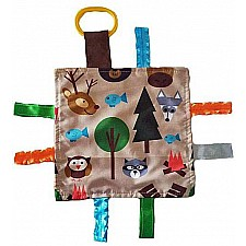 8x8 Forest Animals Crinkle Sensory Toy