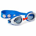 Swimming Goggles For Boys - Sports Kids Swim Goggles By Bling2o (Baseball)