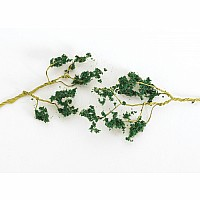60 Wire Foliage Branches-Dark Green