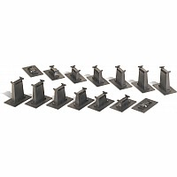 14 Pc. E-Z Track Graduated Pier Set