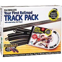 World's Greatest Hobbyï¾® First Railroad Track Pack