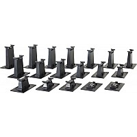 18 Pc. E-Z Track Graduated Pier Set (Compatible With On30)