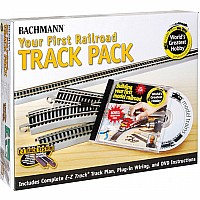 Nickel Silver World's Greatest Hobby First Railroad Track Pack