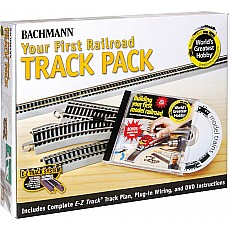 Your First Railroad Track Pack HO-Scale
