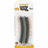 "11.25"" Radius Curved Track (6/Card)"