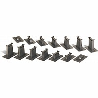 16 Pc. E-Z Track Graduated Pier Set
