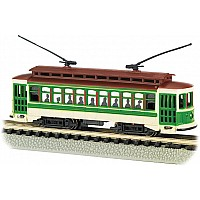 Brill Trolley-Green