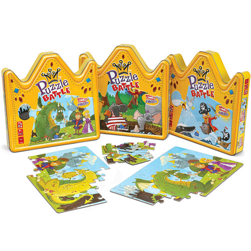 Puzzle battle dragon princess monkey fish toys for Monkey fish toys