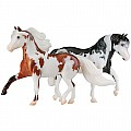 Miniature Horse Set - LTDs Red Cloud and Magic Mans Grand Slam