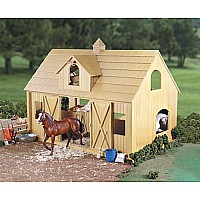 Deluxe Wood Barn with Cupola
