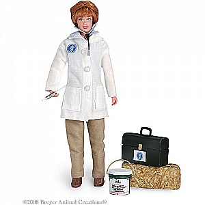 "Laura - Veterinarian with Vet Kit - 8"" Figure"