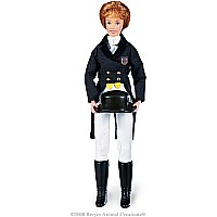 "Megan - Dressage Rider - 8"" Figure"