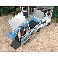 Pick-up Truck and Gooseneck Trailer