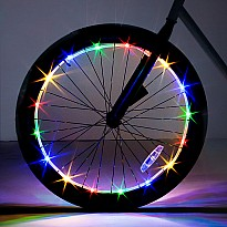 Brightz, Ltd. Multicolor Wheel Brightz LED Bicycle Light