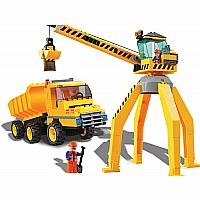 BRICTEK Crane With Truck