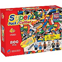 Super Pack Building Bricks 800 piece (compatible with lego)