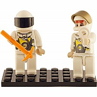 2 Mini-figurines Space TEAM