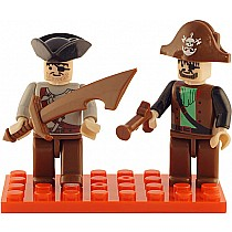 2 Mini-figurines Pirates