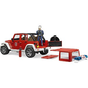 Jeep Rubicon Fire Department w/ Fireman