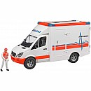 Bruder 02536 MB Sprinter Ambulance with driver