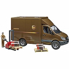 UPS Truck, Driver & Accessories