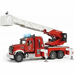Bruder Mack Granite Fire engine with Water pump