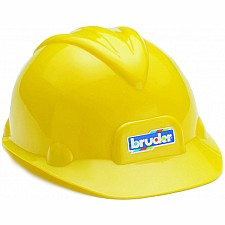 Construction toy helmet
