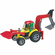 Roadmax Road Loader with Backhoe