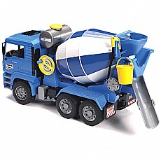 MAN Blue Cement Mixer