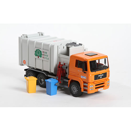 Bruder Man Side Loading Garbage Truck Bruder