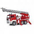 Man Fire Engine With Water Pump, and Light Sound Module