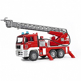 Bruder MAN Fire Engine with water pump and lights/sound