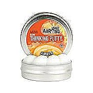 "Crazy Aaron's Amber Glow Thinking Putty 2"" Tin"