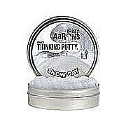 "Snow Day Sparkle Thinking Putty 4"" Tin with Paper Playset"
