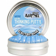 "Electric Blue Thinking Putty 2"" Tin"