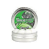 "Crazy Aaron's Krypton Glow Thinking Putty 2"" Tin"