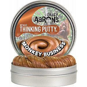 "Monkey Business Metallic Thinking Putty 4"" Tin"