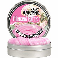 "Crazy Aaron's Spring Bouquet Scented Thinking Putty 4"" Tin"