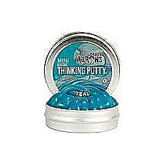 "Teal Thinking Putty 2"" Tin"