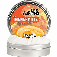 Amber Glow in the Dark Thinking Putty